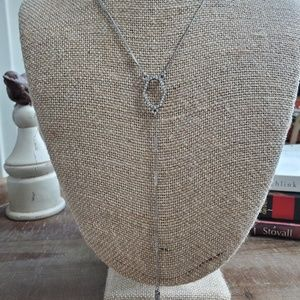Modern Mosaic Y Necklace